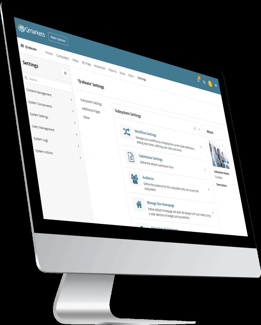 idea management system - monitor